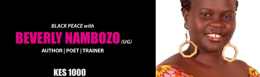 Storymoja Festival Artist: Beverly Nambozo